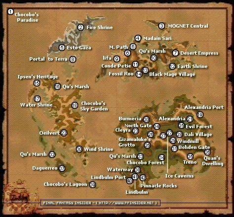 FFIX MAPS